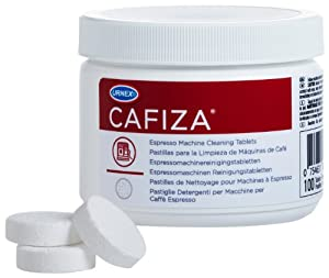 Cafiza Espresso Machine Cleaning Tablets by Urnex