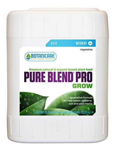 Botanicare Bcpbpg5 5-Gallon Botanicare Pure Blend Pro Gro Plant Food