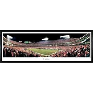 Kansas City Chiefs 35 Yard Line - 13.5x39 Standard Black Frame by Everlasting Images