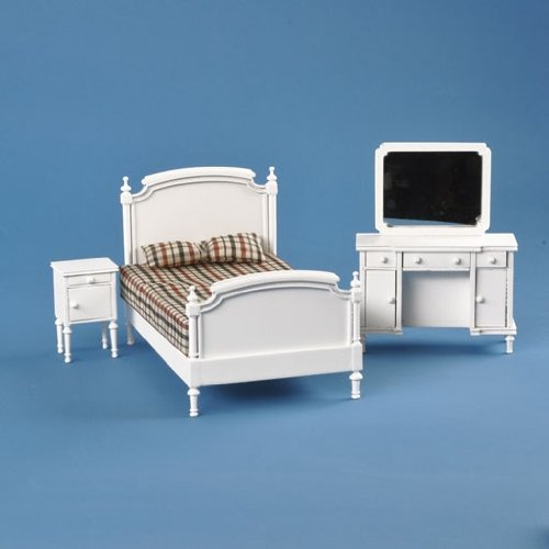 dollhouse miniature 4 pc blakely bedroom set dolls outlet express