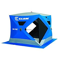 Clam 9128 Big Feet XL2000 7.5x7.5 Upsable by Clam