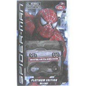 Spiderman 3 Platimun Edition Die Cast Cars - Assortment by MagneBlocks