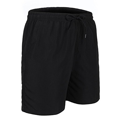 Spotti Basics Mens MTB Mountain Bike Shorts with Padded Underliner - Two Shorts in One (Waist 34-36