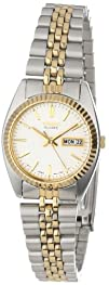 Seiko Womens SWZ054 Dress Two-Tone Watch