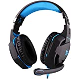 EACH G2100 Gaming Headset CEStore Professional 3.5mm PC Gaming Noise Isolation Vibration Headphone Headband Earphone... - B01DXSJ38U