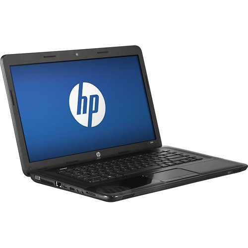 HP 2000-2b30dx Laptop Computer / 15.6-inch Display Screen / AMD E-300 Dual-core 1.3 GHz Processor / 4GB DDR3 RAM Memory / 320GB Hard Drive / 6-cell Battery / Webcam / HDMI / Double-layer DVDRW/CD-RW / Windows 8 / Black Licorice