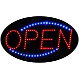 """LED Neon Light Open Sign With Animation On/off and Power On/Off two Switchs for Business By """"E Onsale"""""""