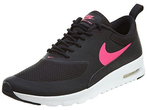 Nike Girls' Air Max Thea, Black/White/Hyper Pink, 6.5 Big Kid M (Nike Air Flex Trainer compare prices)