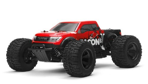 1/14 Tacon Valor Monster Truck Brushed Ready to Run 2.4ghz (Red)