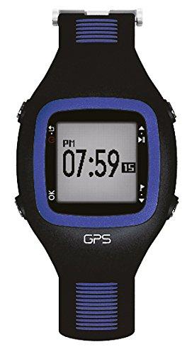 Telefunken GPS Montre de sport Avec Fréquence Cardiaque Bleu