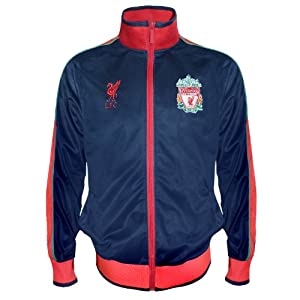 Liverpool FC Official Football Gift Mens Retro Track Top Jacket XL by Liverpool FC