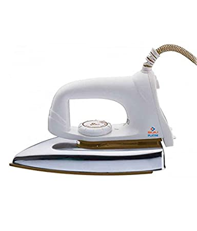 Bajaj Popular VX Light Weight Iron - White