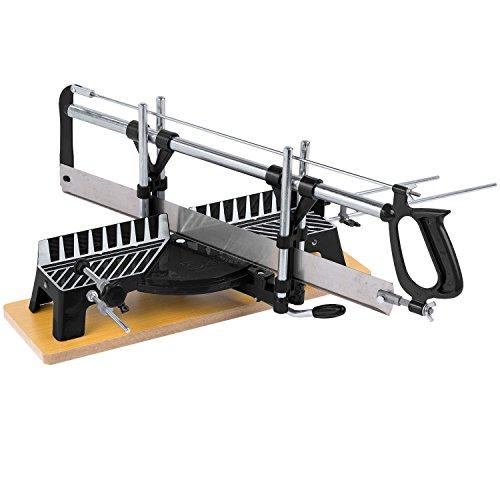Kapp-und-Gehrungssge-Hand-Tischsge-550-mm-Blattlnge-mit-Holzgrundplatte