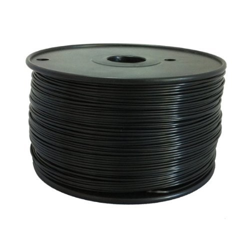 ABS 3mm Black, 1Kg on Spool for Reprap, Mendel, Darwin, MakerBot, RapMan and other 3D Printers