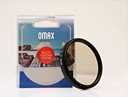 Omax MC CPL Filter For Canon 1300D 18-55mm & 55-250mm Lens