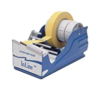 Bertech General Purpose Tape Dispenser for 4 One Inch Wide Tapes or One 4