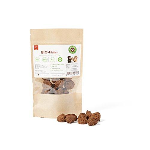 Friandise BIO pour chien, Cookies au Poulet BIO pour Chien, Biscuit pour Chien