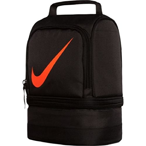 Nike Dome Lunch Tote - Anthracite/Total Orange - 1