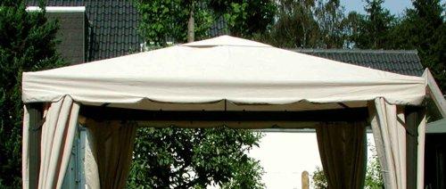 leco ersatzdach pavillon sahara 3 m x 3 m chamyle. Black Bedroom Furniture Sets. Home Design Ideas