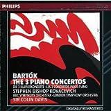 Bartòk-Concertos pour Piano N 1-2-3-Stephen Bishop Kovacevit Lso (1&3)BBC Sym Orch (2)-Colin Davis-