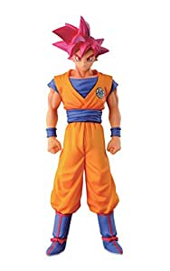 "Banpresto Dragon Ball Z 5.9"" Super Saiyan God Son Goku Figure, Chozousyu Series"