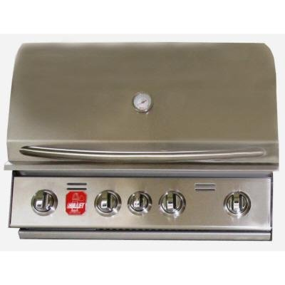 Bull 100060826 Stainless Steel Natural Gas 4 Burner Grill without Rotisserie