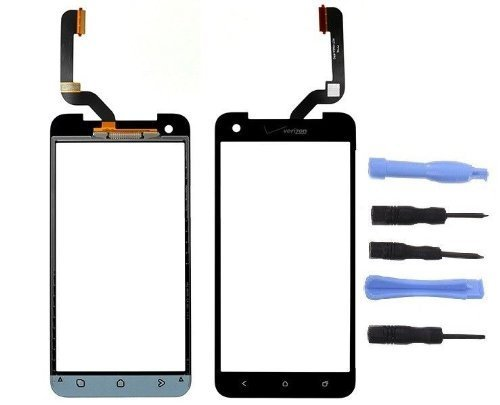 HTC Droid DNA Verizon Replacement Touch Screen Glass Lens Digitizer Repair Part (Htc Phone Parts compare prices)