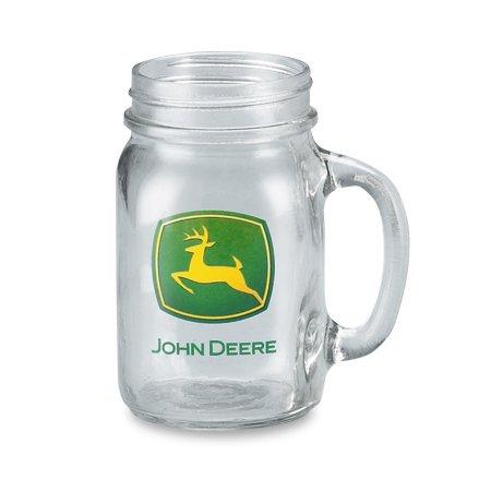 John Deere Trademark Drink Jar