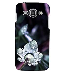 ColourCraft Beautiful Flower Design Back Case Cover for SAMSUNG GALAXY ACE 3 LTE S727