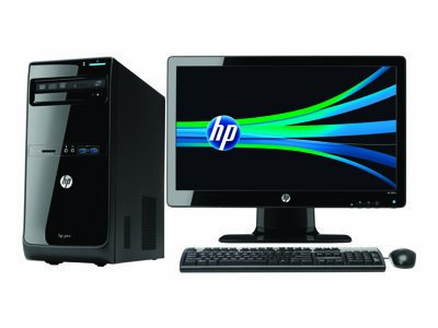 HP Pro 3500 D8C45UT Desktop Computer - Micro Tower Intel Core I3-3220 3.30 GHz 2GB DDR3 500GB HDD DVD-ROM Intel...