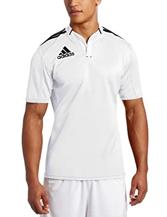 adidas Mens 3-Stripes Climacool Jersey Short-Sleeve Top by adidas