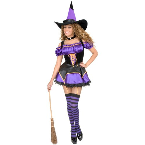 Midnight Witch Costume - Medium - Dress Size 8-10