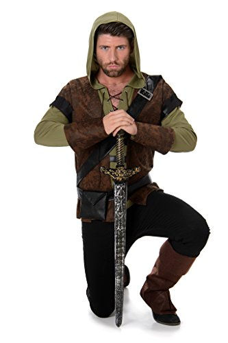 [Men's Robin Hood - Halloween Costume (XL)] (1980s Movie Character Costumes)