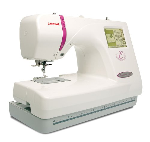 Read About Janome 350e Memory Craft Embroidery Machine