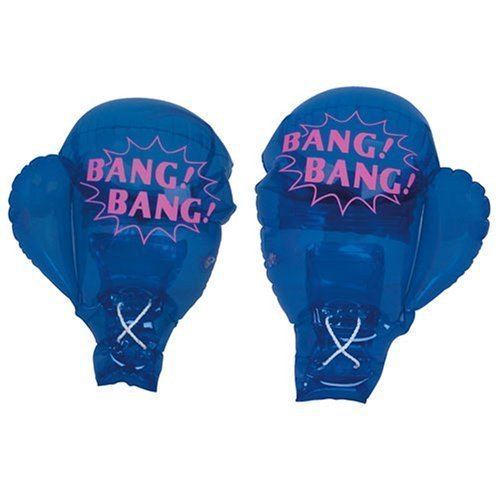 "Socker Boppers Power Bag: 21"" Inflatable Boxing Gloves For Kids To Adult [Toy"