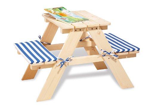 Imagen principal de Pinolino 20 10 17  - Muebles Nicki niños pequeños, sin tratamiento [importado de Alemania]