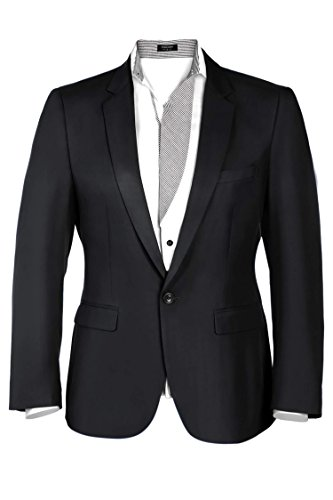 Coofandy-Men-Casual-One-Button-Solid-Slim-Fit-Blazer-Stylish-Suit