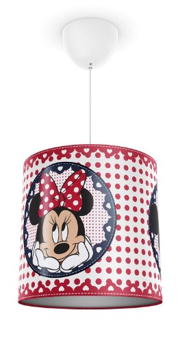 Philips e Disney, Lampadario Sospensione LED, Paralume Minnie