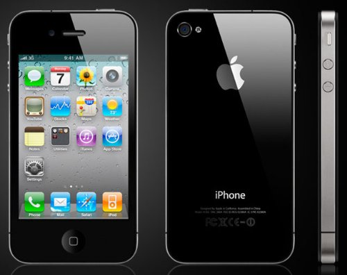 Apple iPhone 4G 32GB Quad-band World GSM Phone 