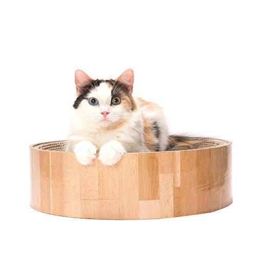 猫壱 バリバリ ボウル 丸型爪とぎベッド