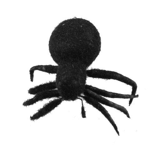 Kunststoff Spinne Design magnetischen Aufkleber Kühlschrank Kühlschrank Dekor schwarz