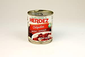 Herdez Chipotle Chiles in Adobo Sauce 7 oz.