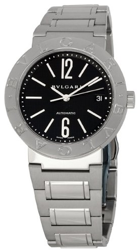 Bvlgari Women's BVLBB38BSSDAUTON Black Dial Watch
