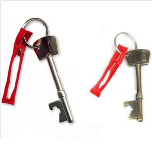 BEST Bottle Opener Key Ring Keyring Chain Metal Bar Tool,WK