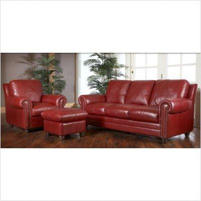 Luke Leather Weston-Set Weston 4 Piece Italian Leather Living Room Set