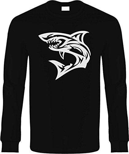Kids Long Sleeve T-Shirt Size XL (SHARK (fishing)) Youth Long Sleeve Tee Shirt (Shark Tees compare prices)