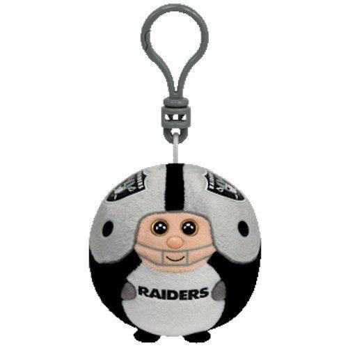 Ty Beanie Ballz Oakland Raiders - Clip