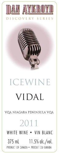 2011 Icewine Dan Aykroyd Vidal Discovery Series 375Ml Ice Wine