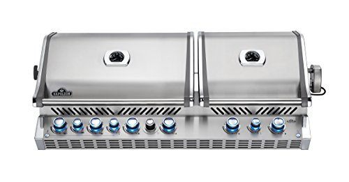Napoleon BIPRO825RBINSS Built-In Prestige PRO Natural Gas Grill, Stainless Steel
