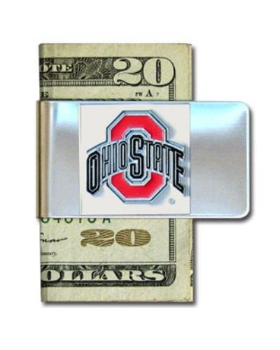 Ohio State University Pewter Money Clip NCAA